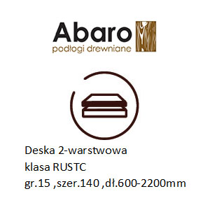 rustic 15x140x600-2200