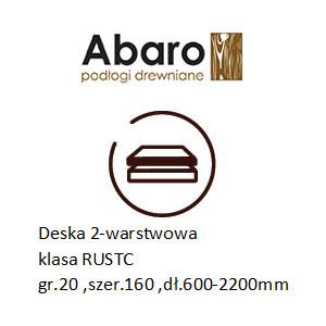 rustic 20x160x600-2200